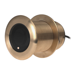 Bronze Thru-hull Transducer with Depth & Temperature (20° tilt) - Airmar B75M