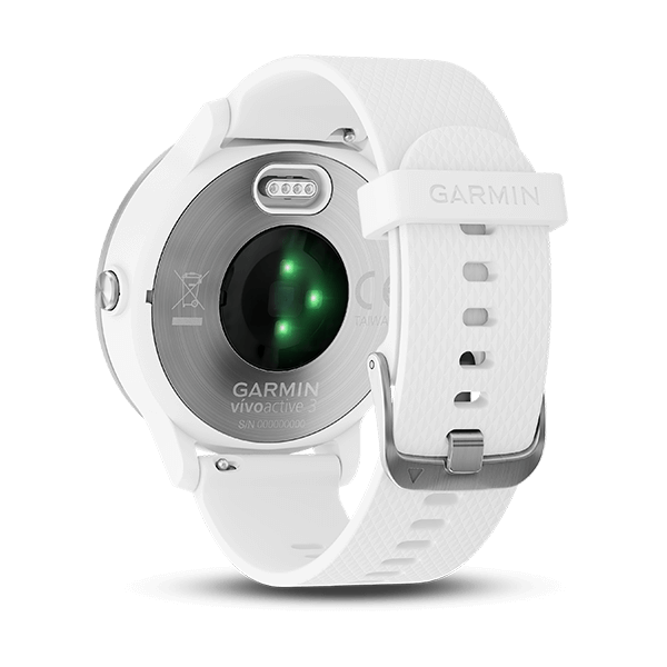 vívoactive® 3 White Stainless