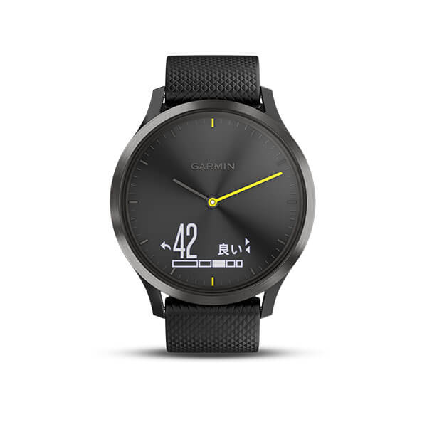vívomove™ HR Sport Black